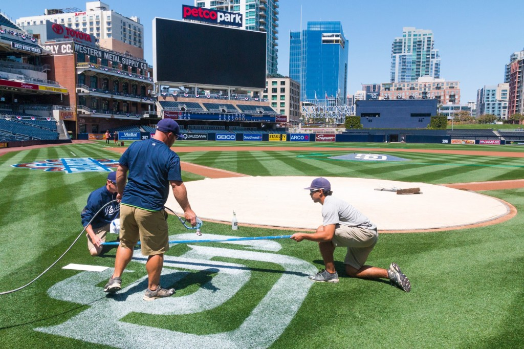 Petco Park - Painting Graphics