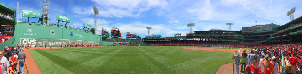 Fenway Park - Field Level Panoramic