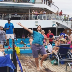 Breaking it down in front of the whole cruise shiphellip