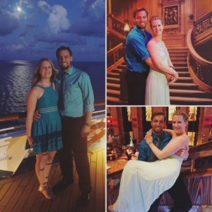 Formal night aboard the Carnival Freedom last week