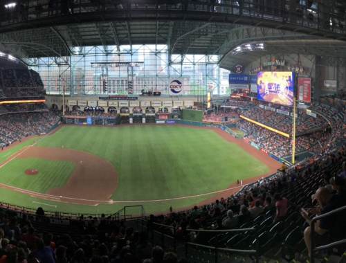 Ballpark Review Minute Maid Park Houston Astros Perfuzion