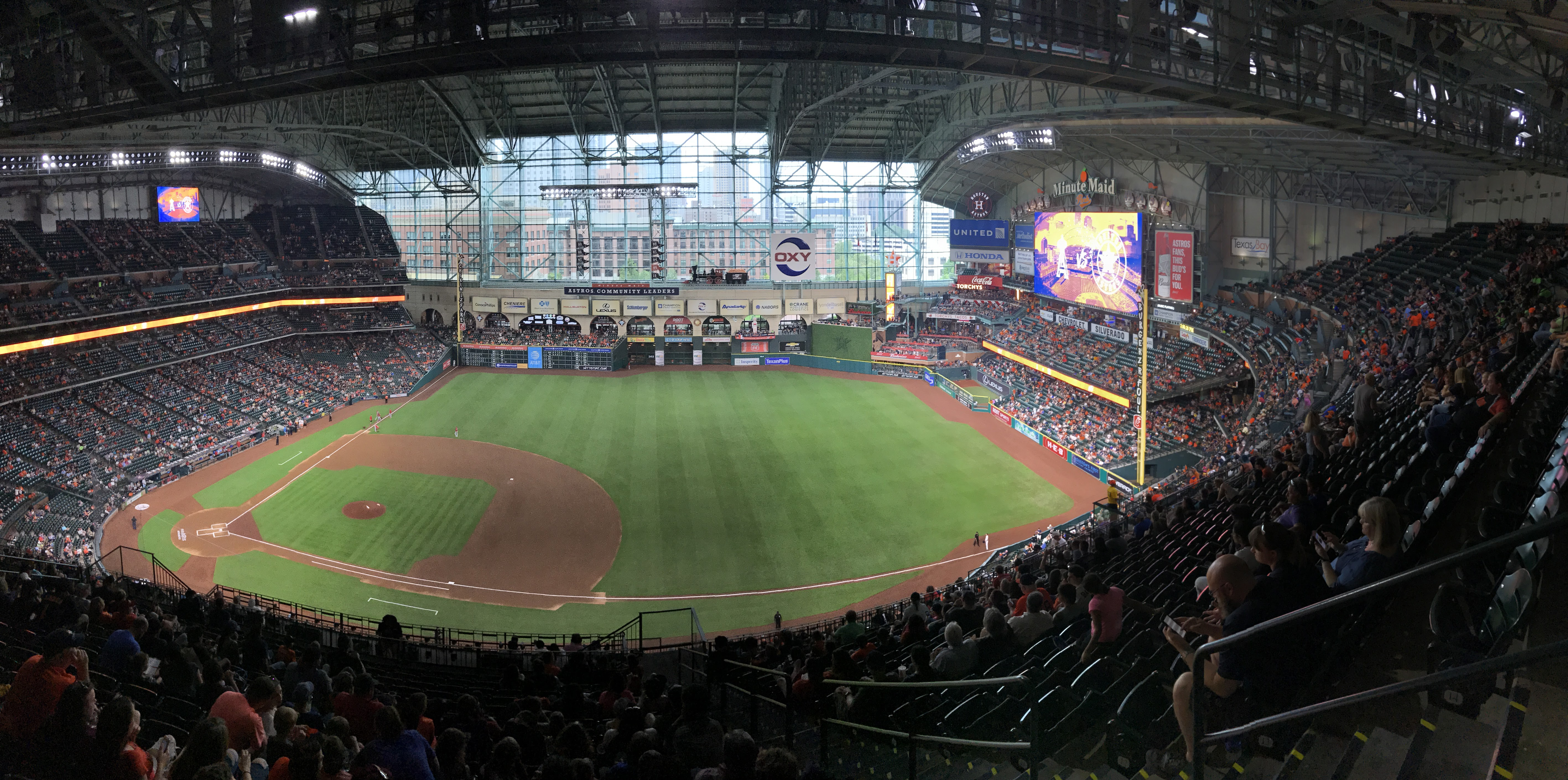 Ballpark Review Minute Maid Park Houston Astros Perfuzion