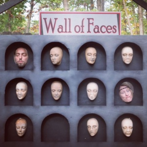 A Game of Thronesstyle wall of faces I went forhellip